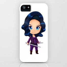 Annabel Chibi iPhone Case