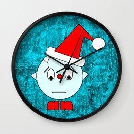 Funny Emotionless Head Wall Clock