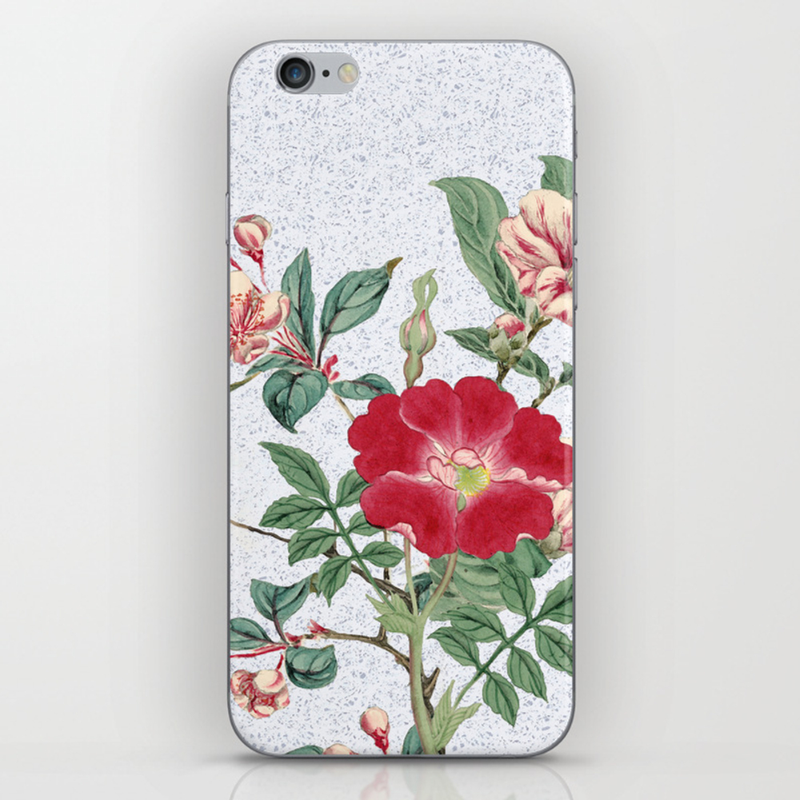 Floral Bonanza Iphone & Ipod Skin by Anipani PSK8653584