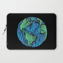 Earth | Black Laptop Sleeve