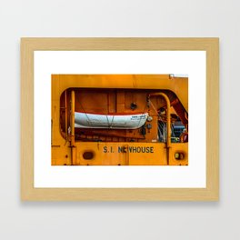 The Ferry Boat Newhouse Framed Art Print