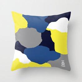 IDGAF Couture - White Throw Pillow