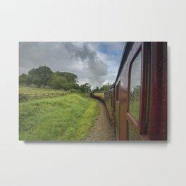 See train ride 2 Metal Print