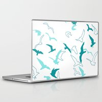 flight Laptop & iPad Skins featuring Flight  by Norman Duenas