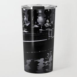 Contemplating Your Next Move when reflecting make sure your memories are clear Travel Mug