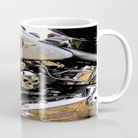motorbike Mugs featuring  Motorbike  by Scenic View Photography