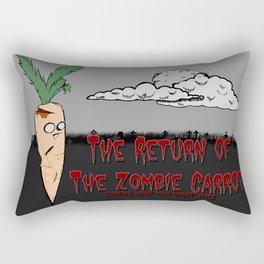 The zombie carrot Rectangular Pillow