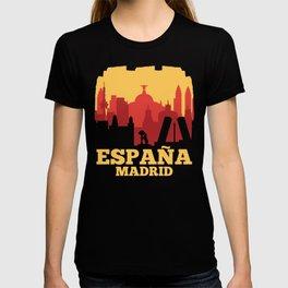 Spain print I Madrid Sights Viva ESPANA Vacation Gift T-shirt