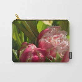 Shy pink tulip Carry-All Pouch