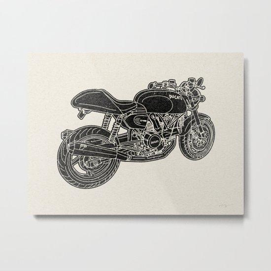 GT1000 Motorcycle Metal Print
