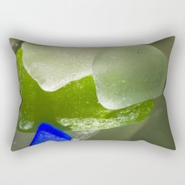 Soft Edge Glass Rectangular Pillow