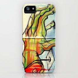 Hand iPhone Case