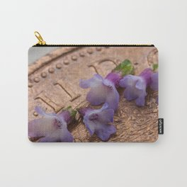 tiny flowers on a coin Carry-All Pouch