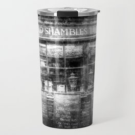 Ye Old Shambles Tavern York Vintage Travel Mug
