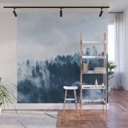 Misty Forest Wall Mural