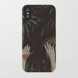 Jungle air iPhone Case