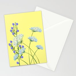 My Kentucky Wild Flowers, Queen Anne Lace and Flax Stationery Cards