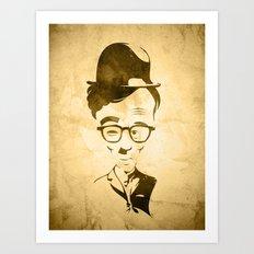 WOOLIE CHAPLEN Art Print