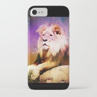 lion king iPhone & iPod Cases featuring King Lion by SwanniePhotoArt