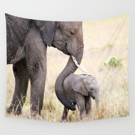 Motherly love Wall Tapestry