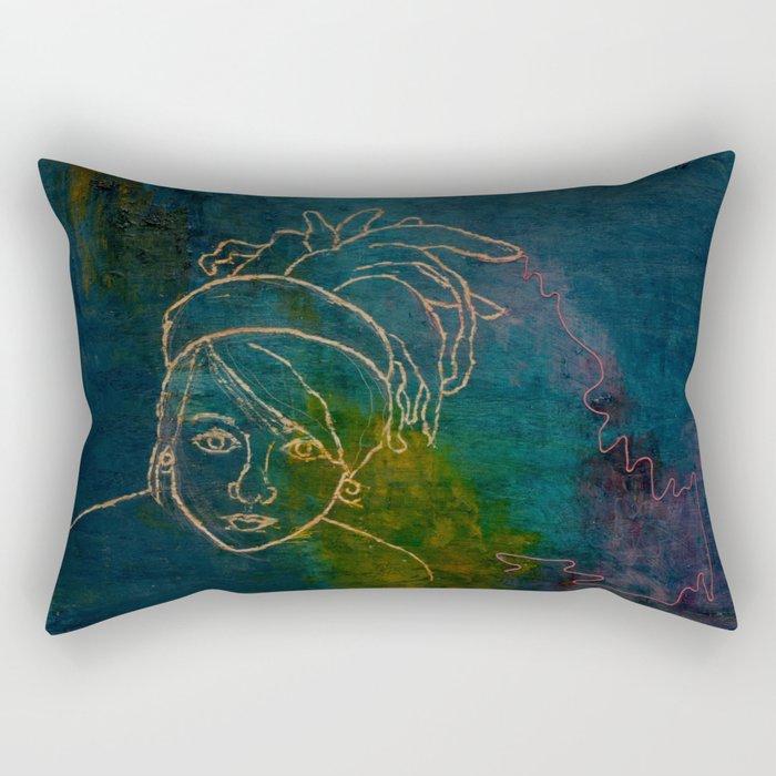 Dread Head Rectangular Pillow