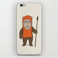 ewok iPhone & iPod Skins featuring Ewoken by Phil Jones