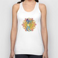 sacred geometry Tank Tops featuring Sacred Geometry Thoth Mandala by Jam.