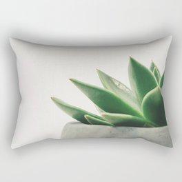 Minimal Cactus - Cacti Photography Rectangular Pillow