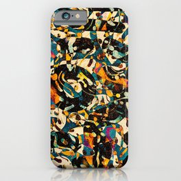 Pattern № 100 iPhone Case