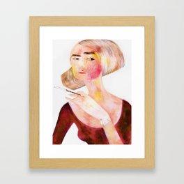 Scarlette Framed Art Print