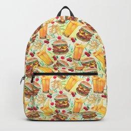 burgers, juices & fries Backpack