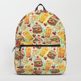 burgers, juices & fries Backpack