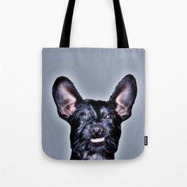 Funny Dog , Good Humor Dog Tote Bag