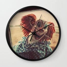 Broken Childhood Wall Clock
