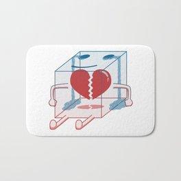 Little Box of Broken Heart Bath Mat