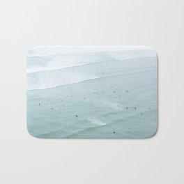 Tiny Surfers from the Sky 2, Lima, Peru Bath Mat