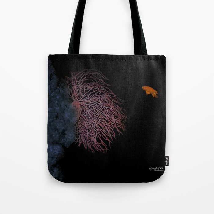 Coral With An Orange Twist Tote Bag