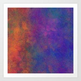 Digitally painted texture 01 Art Print