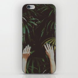 Jungle air iPhone Skin