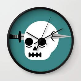 Unfortunate Accident Wall Clock