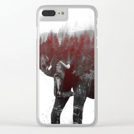 Elephant V1 Clear iPhone Case