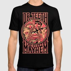 Electric Mayhem Black Mens Fitted Tee LARGE