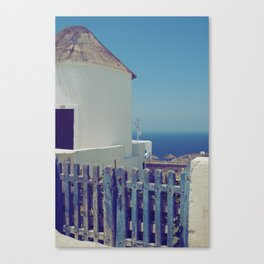Windmill House II Canvas Print