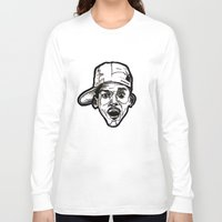 fresh prince Long Sleeve T-shirts featuring Prince Breath of Fresh Air by sketchnkustom