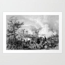Battle of Gettysburg Art Print