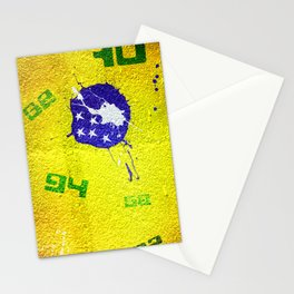 Brazil World Cup Stationery Cards