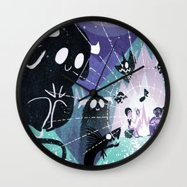 Campfire Song Wall Clock