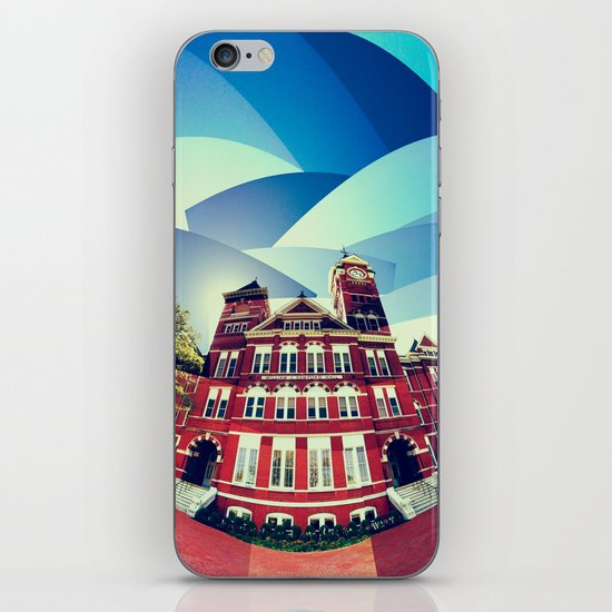 Samford Hall iPhone & iPod Skin