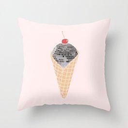Disco Cone Throw Pillow
