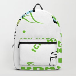 feelings gin and tonic drink Backpack